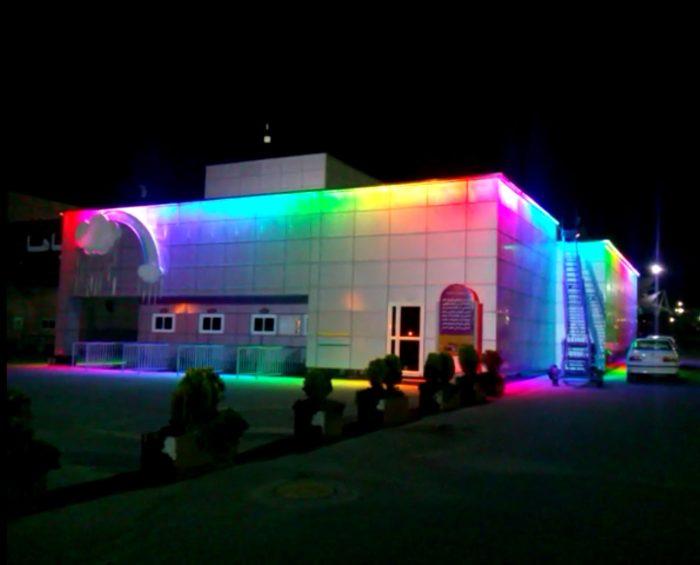 نورپردازی ساختمان