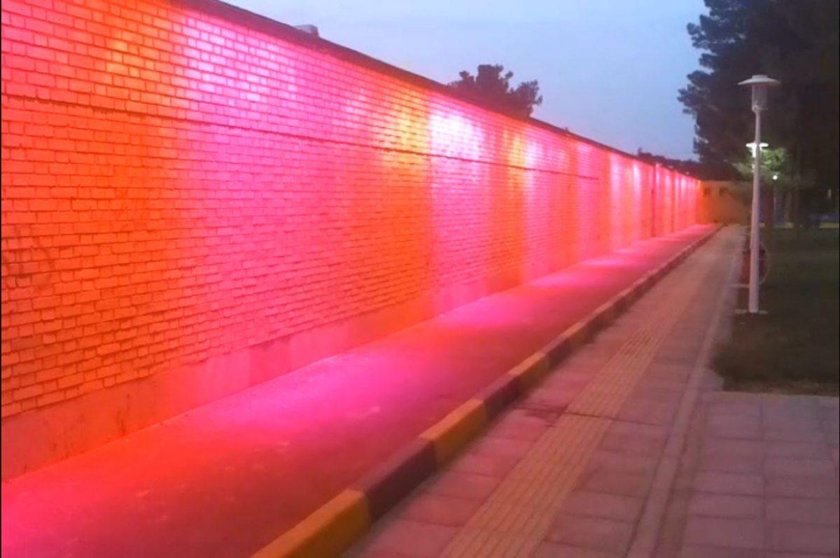 نورپردازی شهر خورزوق