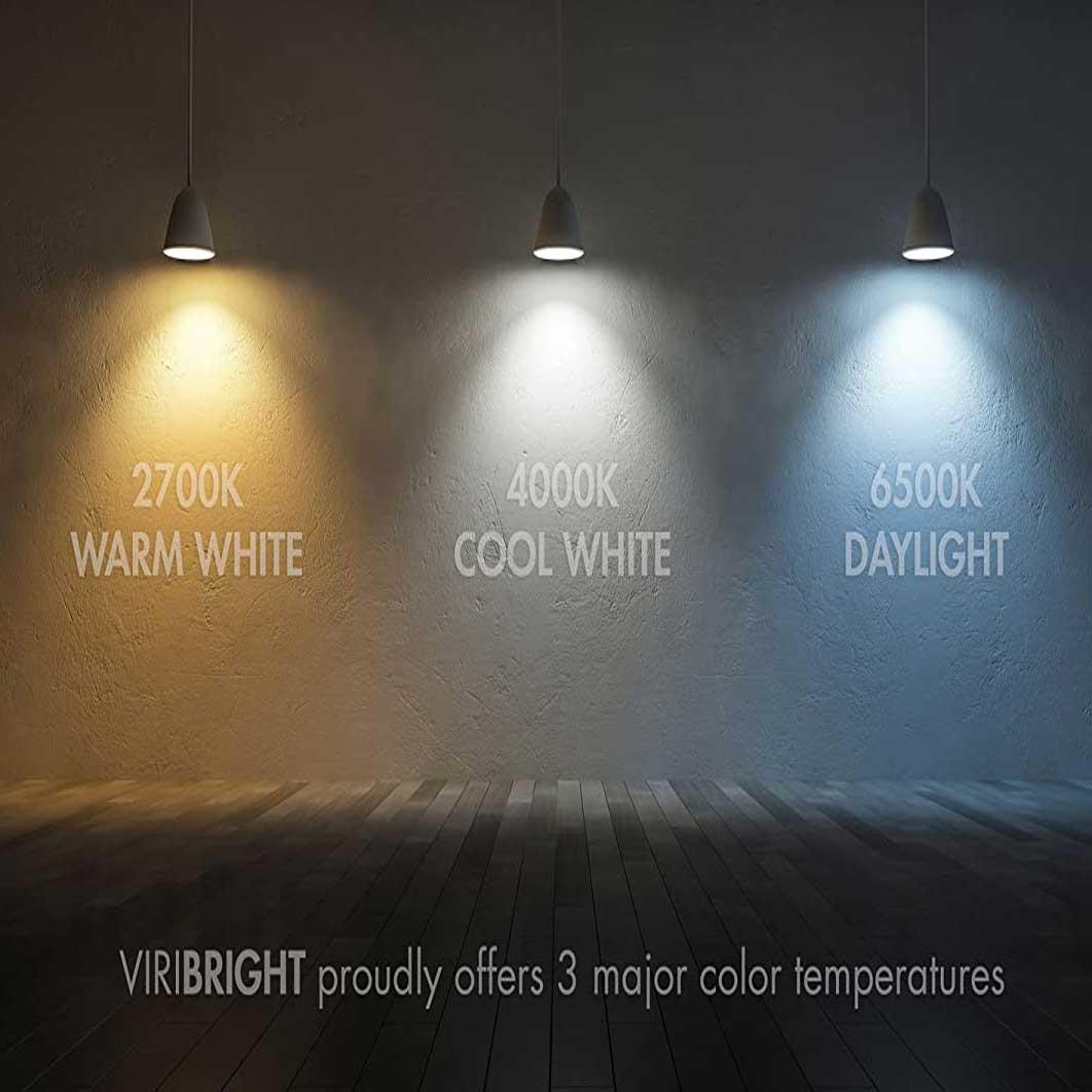 راهنمای نوع نور لامپهای روشنایی